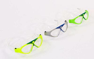 Очки для плавания Classic 1149 очки полумаска поликарбонат, силикон 3 цвета
