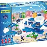 Полицейский участок Wader плюс машинка Wader в подарок