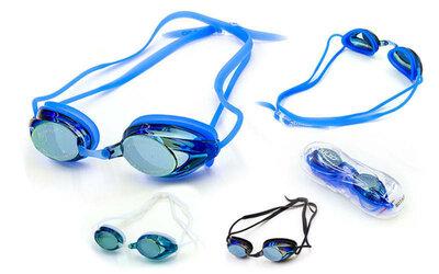 Очки для плавания с берушами Salto 807 очки с берушами поликарбонат, TPR, силикон