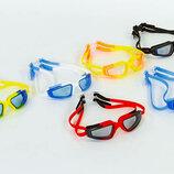Очки для плавания Seals 8600 поликарбонат, силикон микс цветов