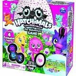 Hatchimals настольная игра 4 эксклюзивные фигурки EGGventure Game