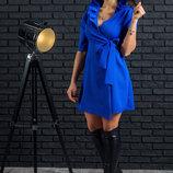 Экстравагантное платье в цвете электрик - новинка от производителя Queen