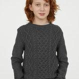 Красивый вязаный свитер H&M