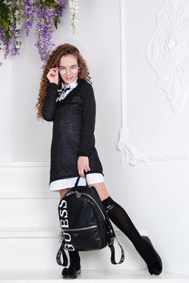 Костюм-Двойка/платье/платье-Рубаха, 134, 140,146, 152 cм, арт.ML-010/SH-444-G