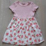Детское летнее платье Next для девочки