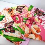Набор красивых полотенец из хлопка Отличная идея для подарка