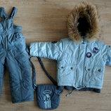 Куртка и комбинезон комплект зимний
