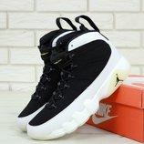 Мужские кроссовки Nike Air Jordan Black White