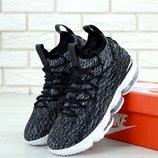 Мужские кроссовки Nike Air Lebrоn Grey