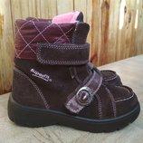 Зимние ботинки Superfit с мембраной Gore-Tex. Размер 27.