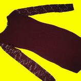 Нарядное платье,цвет марсала,размер 10,Boohoo
