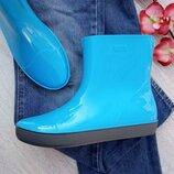 В наличии яркие, стильные и качественные полусапожки «Alida» 36-41р голубые