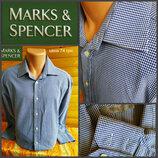 Рубашка от Marks&Spencer, оригинал, р.XXL, ворот 17/43, пр-во Индонезия