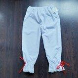 Размер 12-14 Новые необычные белоснежные пижамные домашние шорты капри