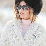 Зимняя меховая женская шапка Marks & Spencer