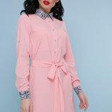 Платье-Рубашка Питон Аврора,размеры s, M, L, XL