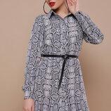 Платье-Рубашка Питон Аврора П Д/р,размеры s, M.