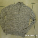 H&M L светр натуральний