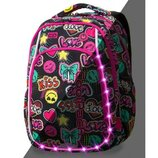Школьний рюкзак с подсветкой Cool Pack Led Strike S Emoticons