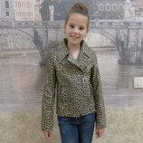 Детская курточка под леопарда