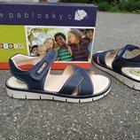 Новые кожаные сандалии Pablosky. разм.25, 33