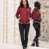 Куртка-Бомбер Модель Ткань плащевка «лаке» на синтепоне плотностью 100 на подкладке Рибана с серебр
