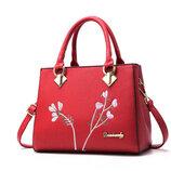 Модная женская сумка с узором, 3 цвета