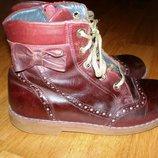Демисезонные ботинки woopy orthopediс, 31р,20 см