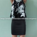 Красивое стильное короткое платье