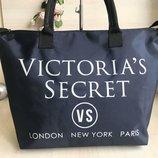 Большая сумка Vs с длинным ремнем. Черная и синяя