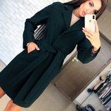 женское стильное пальто Милана 42-50 в разных цветах пх 546