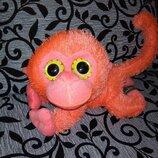 Шикарная мягкая игрушка глазастик-обезьянка