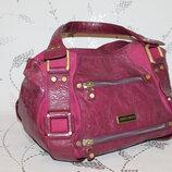 Шикарная кожаная сумка от Jimmy Choo made in Italy оригинал