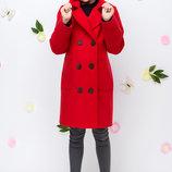 Детское демисезонное двубортное пальто шерсть для девочки в школу 122 128 134 140 146 152