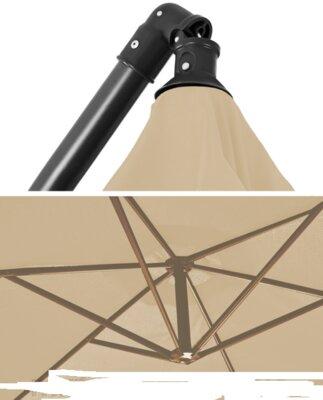 Складной садовый зонт с FABBANE 350 см. Польша. М