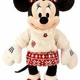 Плюшевая большая Минни Маус Эксклюзив Каникулы Disney 44см