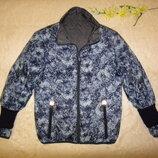 Красивая, необычная двухсторонняя куртка Human Nature р.50-52 XL