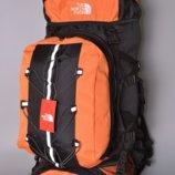 Рюкзак походный туристический 80 L The North Face Catalyzer orange реплика