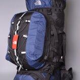 Рюкзак походный туристический 80 L The North Face Catalyzer blue реплика