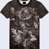 Мужская футболка 3D Sons of Anarchy Большой выбор