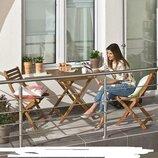 Набор садовой мебели Eila. Стол 2 кресла. Дерево. Польша. М.