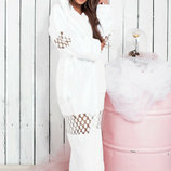 Шикарный женский махровый комплект халат сапожки 058059 Клеопатра в расцветках. Арт. Ер-058059.