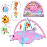 Коврик игровой арт 898-11 развивающий,бабочка для малышей.