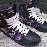 Брендові кросівки хайтопи Mat&Star 41 Болгарія 26 см кроссовки высокие unisex