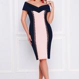 Платье Аделина-Батал Б/р,размеры XL, XXL, XXXL