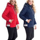 Молодежная куртка от производителя 44-58 размеры sku-10 красный, синий