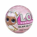 Лол Глем Гліттер новинка оригінал L.O.L. Surprise Glam Glitter Series Doll with 7 Surprises