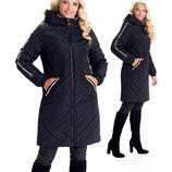 Качественная модная куртка больших по 60-й размеров sku-6