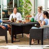 Набор садовой мебели COLUMBIA SET 5 шт Allibert. Нидерланды. М.