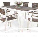 Комплект для сада FLORENCE стол 6 стульев. Польша. М.